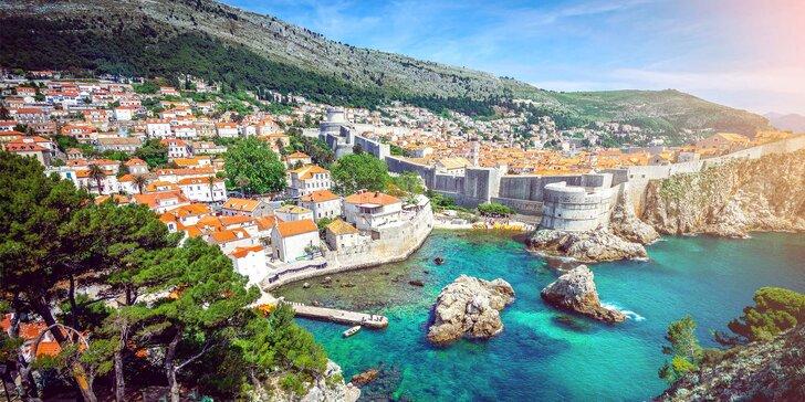 Pobytově-poznávací zájezd do Dalmácie: autobus, 7 nocí s polopenzí a výlety