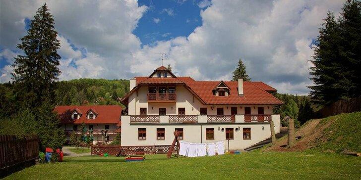 Aktivní odpočinek v Beskydech: 3 dny, penzion se snídaní, výlety i lyžování