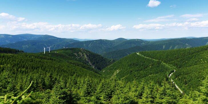Kouzelné jaro v srdci jesenických hor na 3 až 6 dní se snídaní a saunou