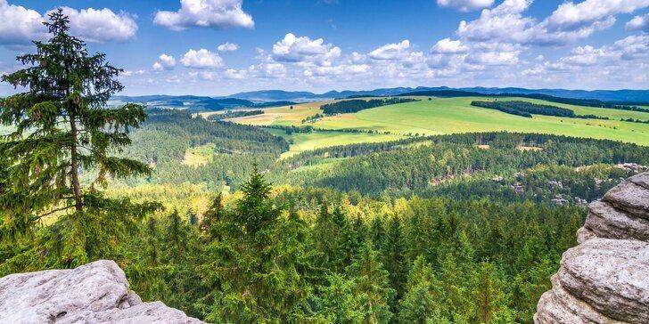 Překrásný Adršpach: dovolená s polopenzí a termíny až do dubna 2020