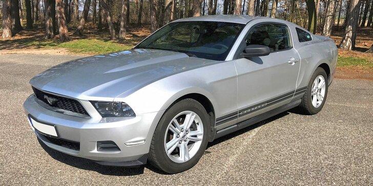 Adrenalin za volantem: půjčte si Ford Mustang na den i na víkend