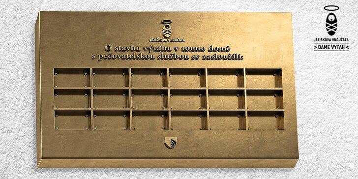 Postavme výtah seniorům: jméno vaší firmy na pamětní desce v Krucemburku