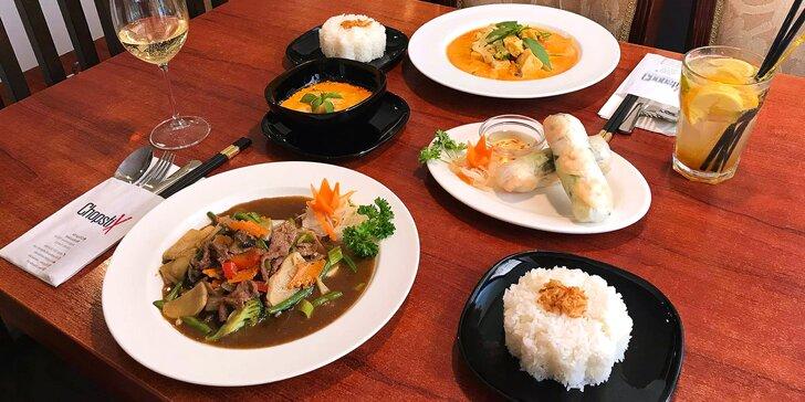 Skvěle chutná i vypadá: 3chodové vietnamské menu i s nápoji pro dva