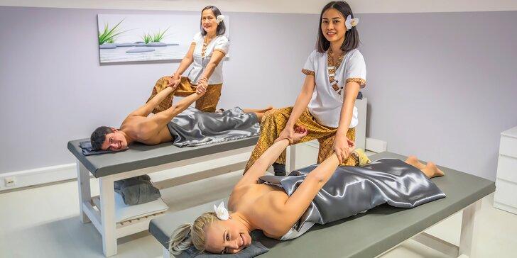 Párová relaxace v Diamond Spa: luxusní masáže u Václavského náměstí
