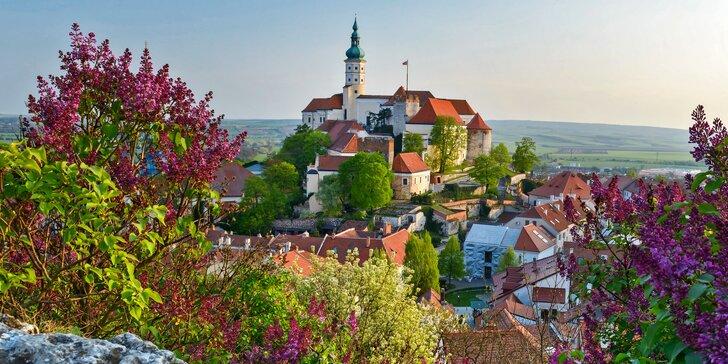 Jarní či podzimní pobyt v apartmánech Dolní Dunajovice až pro 5 osob