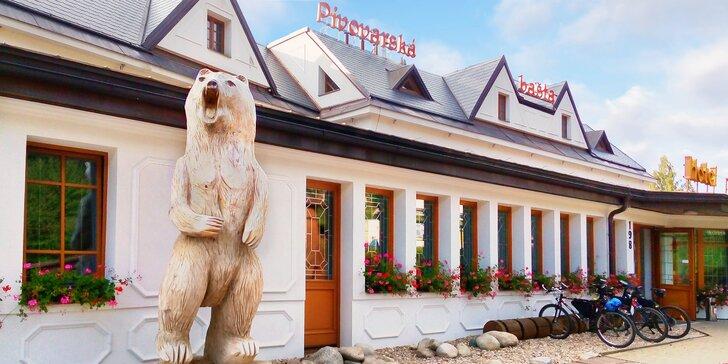 Krásy Krkonoš ve Vrchlabí: pobyt s polopenzí v hotelu s vlastním pivovarem