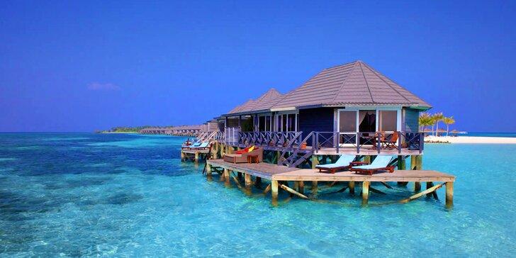 Odpočinek na exotických Maledivách: 6–12 nocí s all inclusive a bazénem