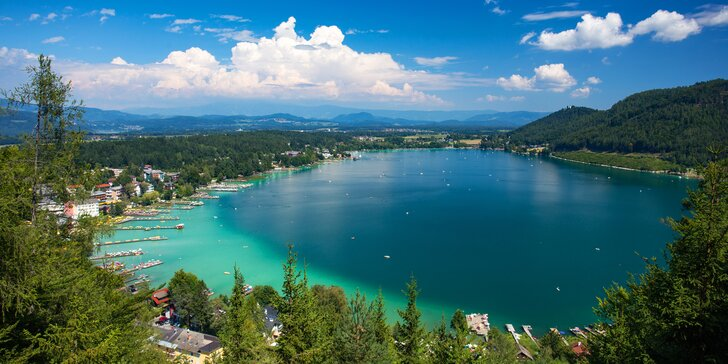 Apartmány u jezera Klopeiner See: snídaně, bazén, dítě do 15,9 let zdarma