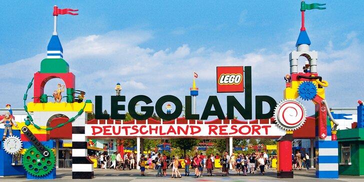 Výlet do Legolandu: doprava a neomezený vstup na atrakce, léto či Halloween