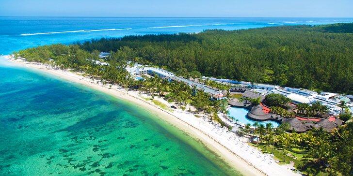 4* plážový resort na Mauriciu: 6–12 nocí s all inclusive, 2 venkovní bazény