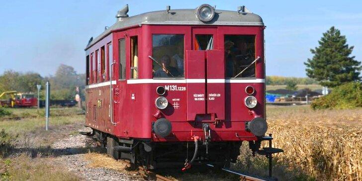 Komentovaná prohlídka železničního muzea v Rosicích nad Labem pro 2