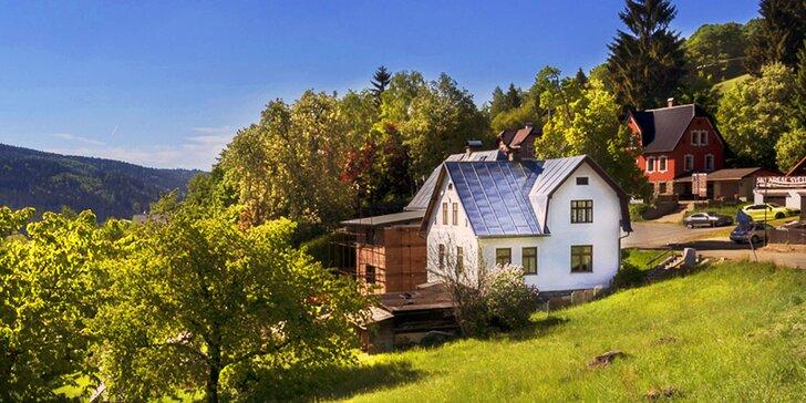 Jarní aktivní pobyt v Jizerských horách: ubytování pro 2 až 4 osoby na 3–7 dní