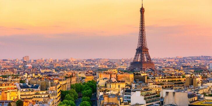 Nechte se okouzlit Paříží a Versailles: 5denní zájezd vč. snídaně a průvodce
