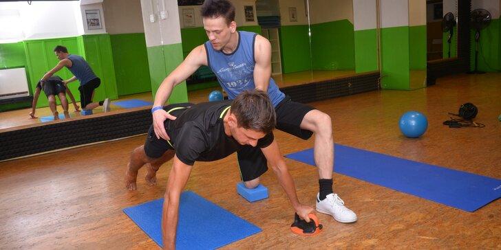 Funkční fitness trénink s diagnostikou těla s možností sportovní masáže