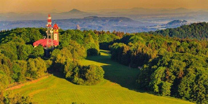 Víkend pro dva se skvělým výhledem, výlety po Českém ráji a třeba i wellness