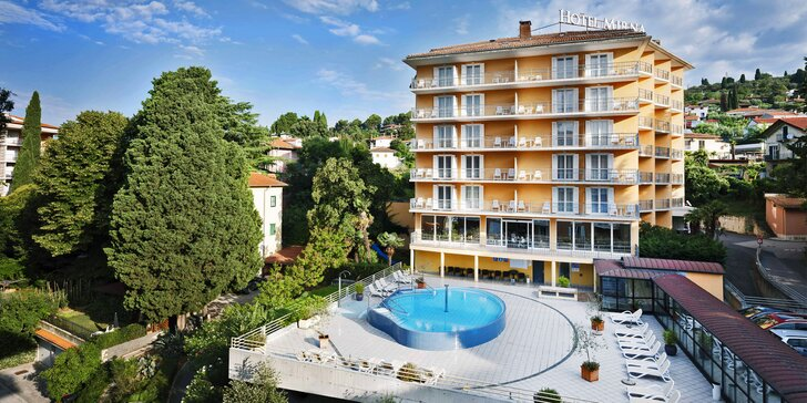 Za krásami Slovinska: 4* hotel blízko moře, polopenze a bazény neomezeně