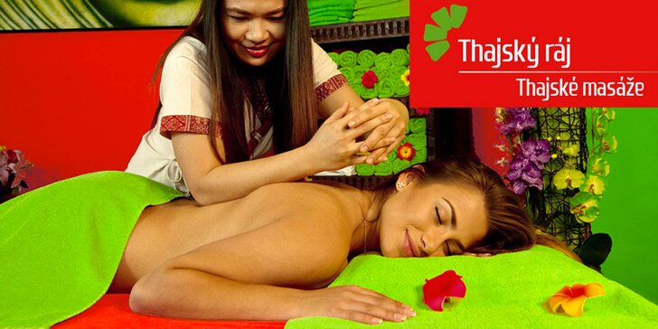 Jarní odpočinek v Thajském ráji: 120–150 minut relaxu při masáži