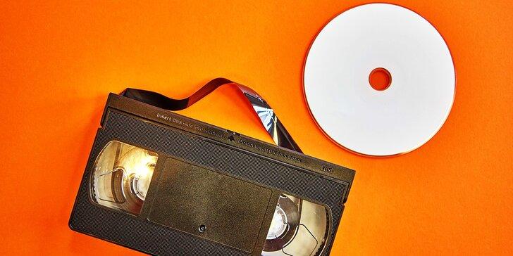 Uchovejte vzpomínky: převod 2 hodin záznamu z VHS kazety na DVD