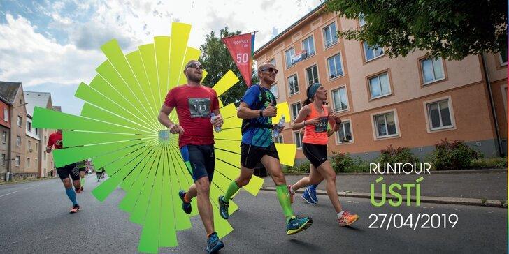 Startuje RunTour 2019: zaběhněte si 5 či 10 km kolem řeky v Ústí nad Labem