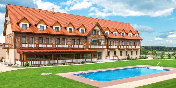 4* relaxační pobyt: polopenze, sauny, bazén, vířivka i zážitkový park
