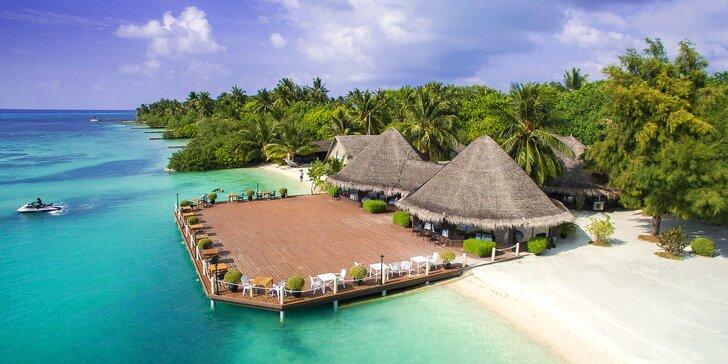Perfektní odpočinek na Maledivách: 6–12 nocí ve 4* resortu s all inclusive