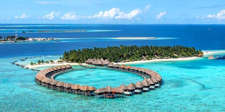 Luxusní dovolená na Maledivách: 6–12 nocí v 5* hotelu s all inclusive, bazén
