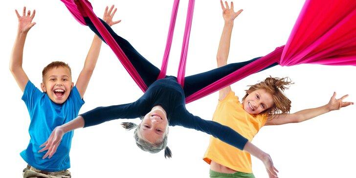 Cirkusherna Nový Jičín – dětské akrobatické dopoledne na šálách i kruzích