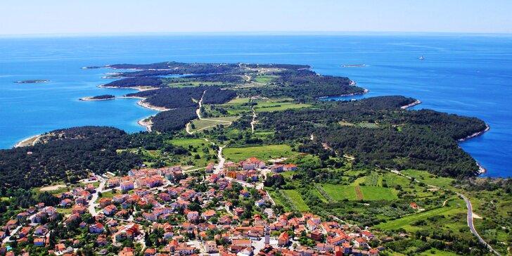 Jižní Istrie: apartmán pro 2 či 3 os. u čarokrásné přírodní rezervace Kamenjak