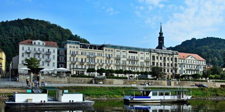 Vlakem do Bad Schandau s turistikou nebo koupáním v termálních lázních