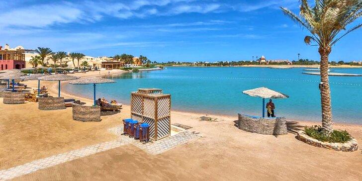 Skvělá dovolená v 5* resortu v Egyptě: 4–9 nocí s all inclusive, 500 m od pláže