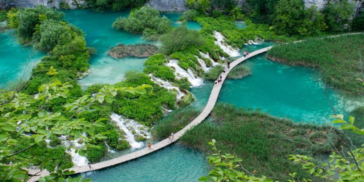 Přírodní i historické krásy Chorvatska a Slovinska: doprava a 2 noci v hotelu