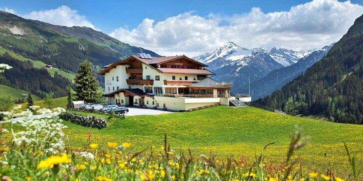 S rodinou do rakouských hor: 2–5 nocí, polopenze i neomezený wellness