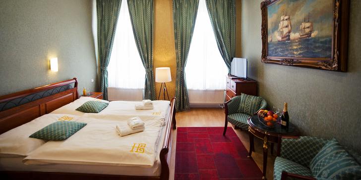 Romantický pobyt s polopenzí a relaxem v krásném secesním hotelu