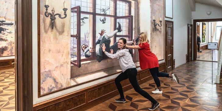 Vstup do Muzea iluzivního umění I AM Prague pro jednotlivce i rodiny