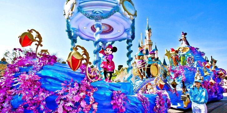 Zájezd do Paříže a Disneylandu: 1 nebo 2 noci, bez vstupenky do parku