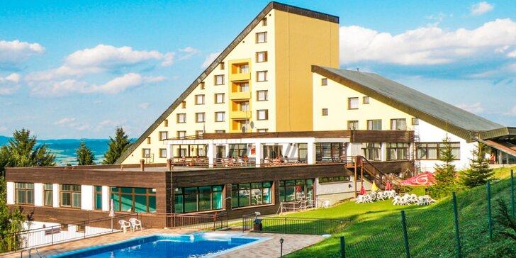 Jaro a léto na Valašsku: výlety, polopenze, bazén i wellness procedury