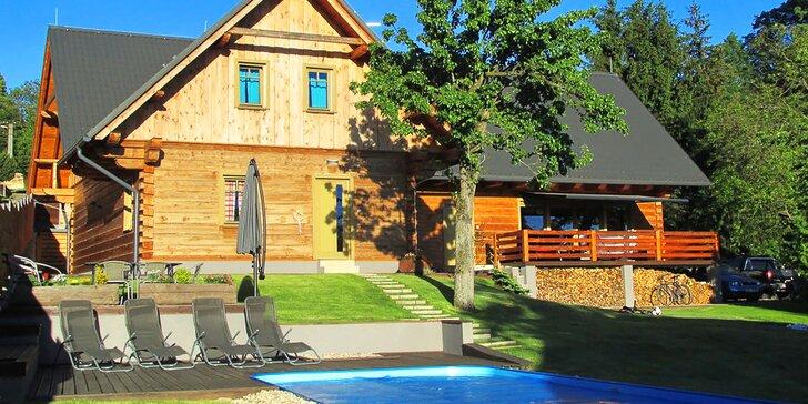 4 dny v luxusním penzionu s polopenzí poblíž Adršpachu a Babiččina údolí