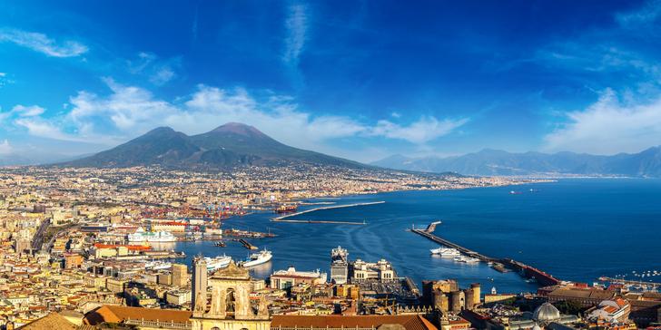 Jižní Itálie – Řím, Neapol, Vesuv, Pompeje, Herculaneum i Capri vč. snídaně