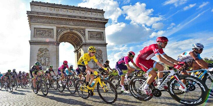 Tour de France 2019: autobusový zájezd do Francie s noclehem a snídaní