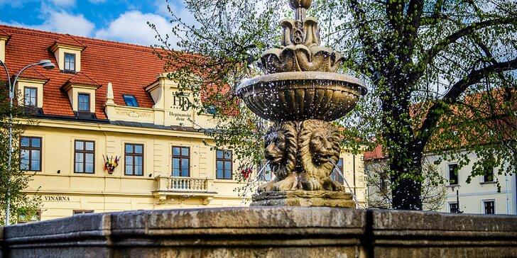 Vyrazte na dovolenou do hotelu Hejtmanský dvůr, který stojí na náměstí ve Slaném.