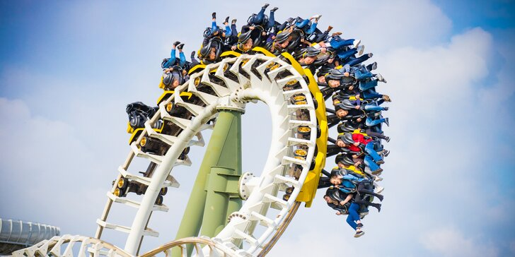 Den plný zábavy v německém Heide Parku včetně vstupenky na atrakce