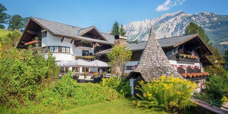Aktivní pobyt v Alpách: polopenze, neomezený wellness i slevová karta