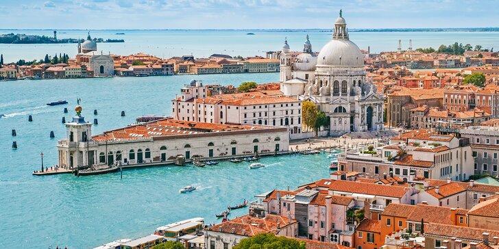 Víkendový výlet do Benátky s průvodcem a možností koupání