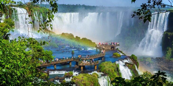Brazílie a příroda Pantanalu: záloha na 16denní zájezd s českým průvodcem