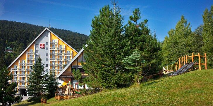Dovolená v hotelu Clarion ve Špindlu: wellness, skvělé jídlo a moře výletů