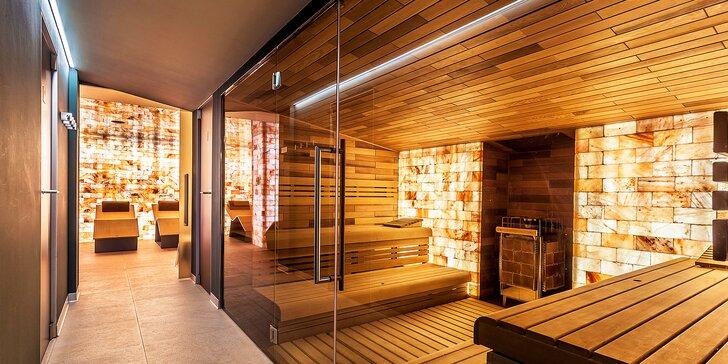 Luxusní pobyt v Harrachově s polopenzí a spoustou wellness procedur