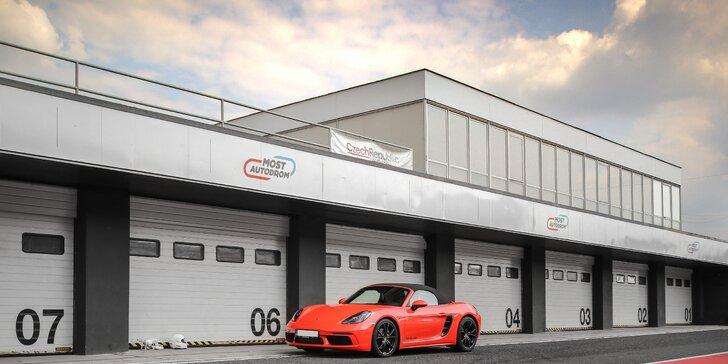 1–5 kol na závodním okruhu Autodrom Most v Porsche s Radkem Vrtalem