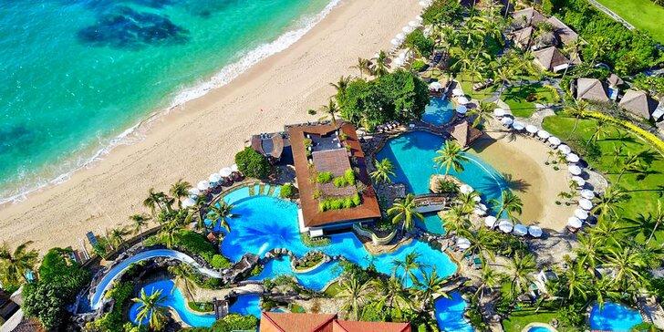 Zažijte exotiku v 5* resortu na Bali: 6–12 nocí se snídaní a soukromou pláží