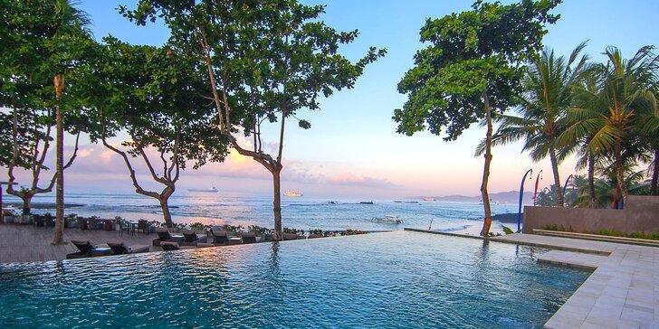 Exotický 4* resort s lázněmi na Bali: 6–12 nocí se snídaní, 2 bazény, lázně