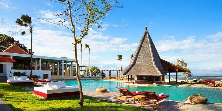 Krásný 4* resort na Bali: 6–12 nocí, snídaně, bazén, wellness, přímo u pláže